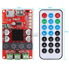 Tpa3116 Bluetooth Audio Receiver Power Amplifier Board 2x50w With Remote Control