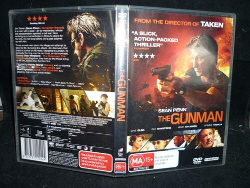 1 of 1 - THE GUNMAN  (DVD, MA15+)