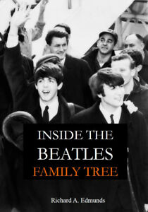 Inside the Beatles Family Tree A4 Paperback NEW 2019