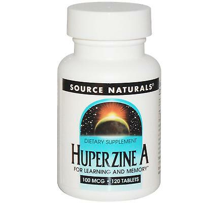 Huperzine A - 120 - 100mcg Tablets by Source Naturals - for Learning & Memory