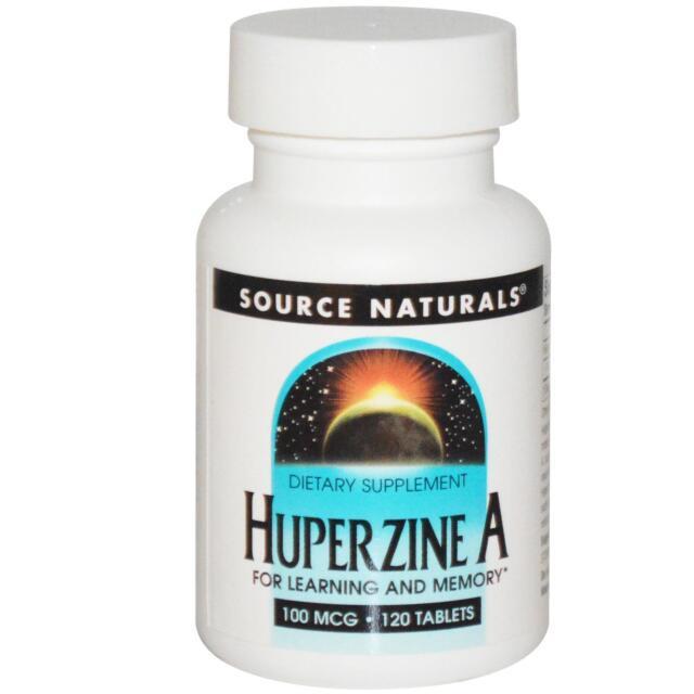 Huperzina a - 120-100mcg Tabletas por source naturals - para Aprendizaje y