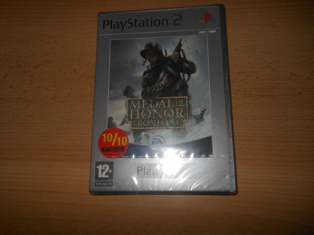 MEDAL OF HONOR: Frontline PS2 SONY PLAYSTATION 2 NUEVO PRECINTADO