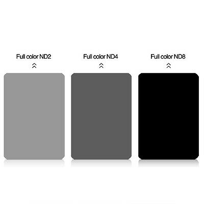 Zomei 150mm*100mm Square Filter Neutral Density ND2,ND4,ND8 filter for Cokin Z