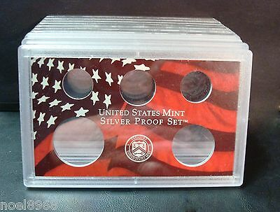 1 MINT PLASTIC HOLDER INSERT HOLDS FIVE QUARTERS ONE RE-USABLE SNAP-TITE US