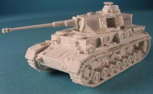 Milicast BG118 1//76 Resin WWII German PzKpfw IV Ausf J in Zimmerit Final