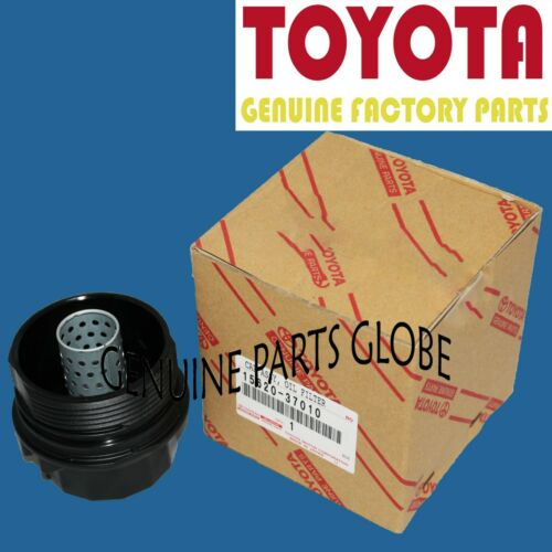 TOYOTA COROLLA PRIUS LEXUS SCION iM xD GENUINE 4CYL OIL FILTER CAP 15620-37010