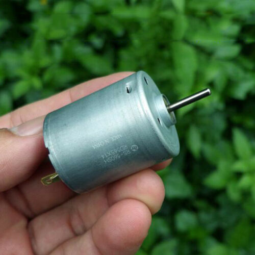 Mabuchi RS-360SH-12420 Carbono Cepillo DC12V-24V 8500RPM de largo del eje del motor modelo de juguete