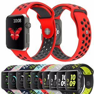 New Color Silicone Sport Band Strap for Nike+ Apple Watch Series 2 1 Bracelet