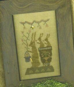 Delivering Snow Homespun Elegance Cross Stitch Pattern