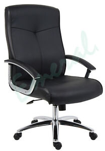 Brighton-Executive-Leather-Office-Computer-Arm-Chair-Same-Day-Dispatch