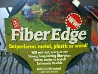 Easy Gardener Fiber Edge Lawn Edging Border Edging 20 Ft. Green 8902