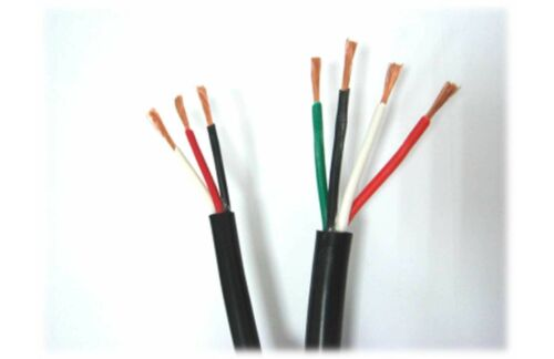 Double Shield Cable 15ft 18AWG Black Yutai CSA-0.75MM2-4C