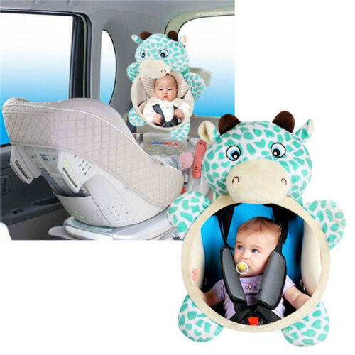 Rearview Rear Safety Wide Baby Mirror Car Seat Headrest View Back Child Mount LH