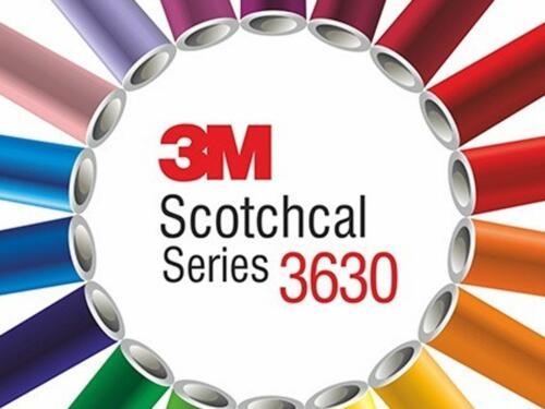 3M 3630 Scotchcal Regal Red 83 Translucent Vinyl Film Craft Sign DIY Sheet Roll
