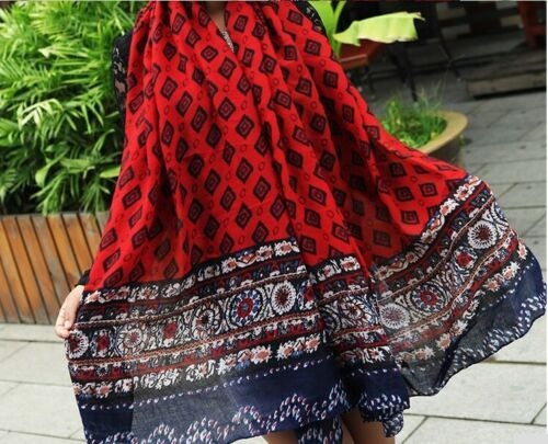 Square print Scarf Winter Long Shawl Headscarf Scarves Stole Wrape Cape Ladies