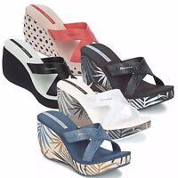IPANEMA STRAPS scarpe sandali donna alti zeppa ciabatte infradito zoccoli mare