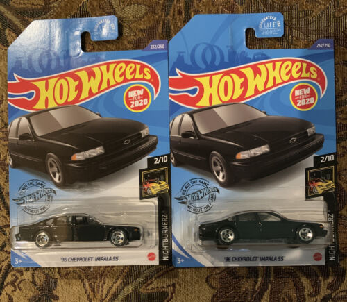 MINT LOOSE Hot Wheels '96 Chevrolet Impala SS 1:64 Diecast Collectible