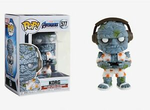 Funko Pop Marvel Avengers Endgame Gamer Korg Vinyl Figure