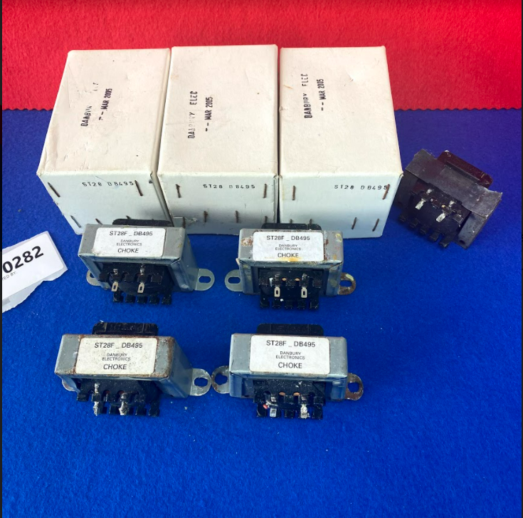 4x Danbury Electronics Transformer ST28F_DB495 Choke