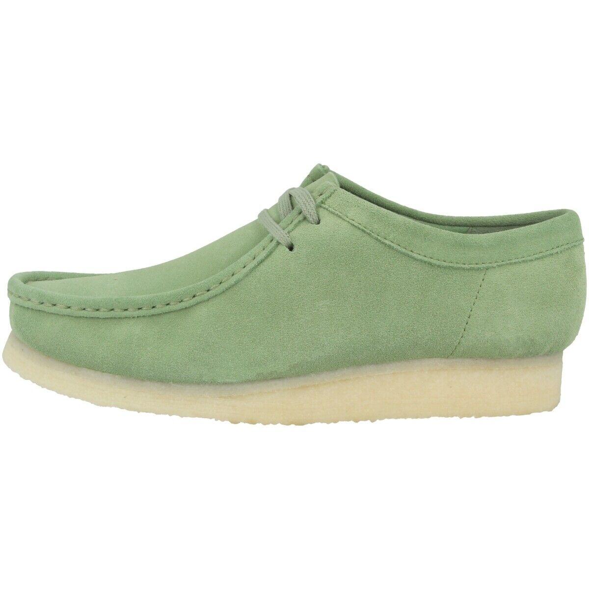 Clarks Wallabee shoes men shoes di Cuoio Stringate Mocassini 26139177
