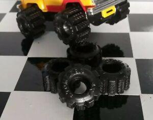 4-New-Black-Schaper-Stomper-Super-Swamper-Truck-TIRES-Handmade