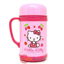 Sanrio Hello Kitty Stainless Steel Soup Container 20oz Pink Porridge Soup Bottle