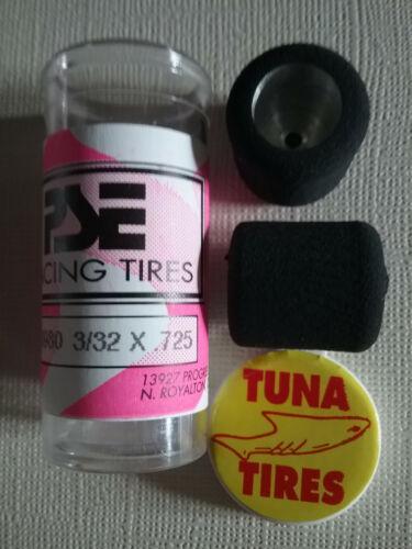 PSE Racing Tires PARMA # 70980 New 3//32 x .725 Tuna Slot Car Tires