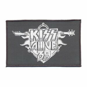 KISS-Alive-35-Woven-Patch-Sew-On-Official-Band-Merch-New