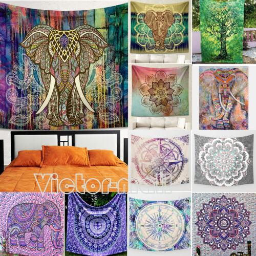 Tapestry Round Mandala Beach Mat Towel Throw Hippie Blanket Indian Picnic Boho