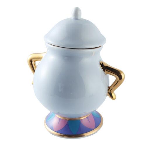 Cartoon Beauty and The Beast Teapots Mug Mrs Potts Chip teaPot and cup set new