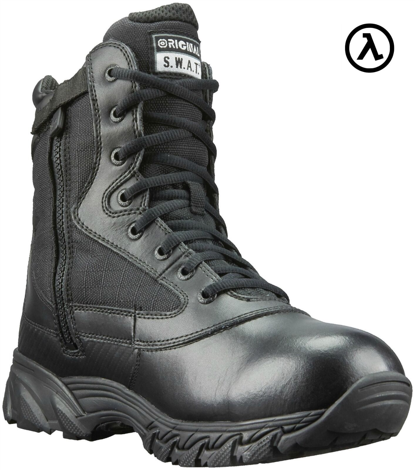 c4c44fa9 BOOTS MENS ZIP 9 CHASE SWAT ORIGINAL 131201 SIDE NEW - SIZES ALL ...