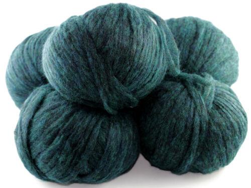 200g muy blando mohair lana luxurypremium Teal 20/% angora 40/% merino 110m//50g