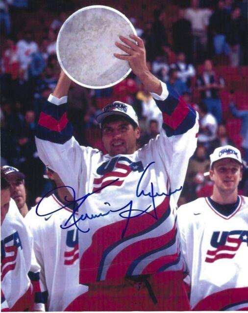Team USA Kevin Hatcher Autographed Signed 8x10 Photo COA #2