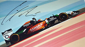 Nico Hulkenberg SIGNED 12x8  F1 Force India VJM07  F1 Test Bahrain 2014 - northampton, Northamptonshire, United Kingdom - Returns accepted Most purchases from business sellers are protected by the Consumer Contract Regulations 2013 which give you the right to cancel the purchase within 14 days after the day you receive the item - northampton, Northamptonshire, United Kingdom