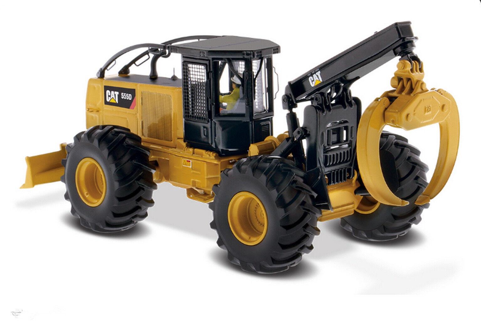1 50 DM Caterpillar Cat 555D Wheel Skidder Diecast Models