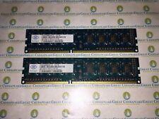 8GB PC3-10600u DDR3-1333MHz 1Rx8 Non-ECC Nanya NT2GC64B88G0NF-CG 4x2GB