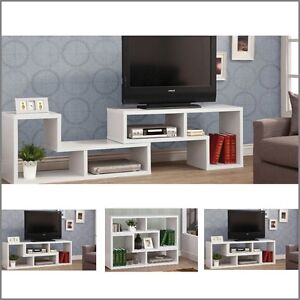 Image Is Loading Modern TV Stand Entertainment Book Case Media Center