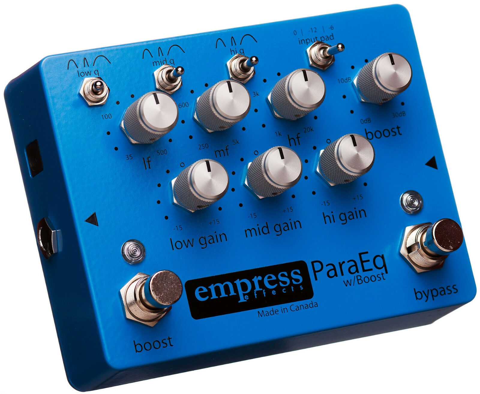 1Empress ParaEQ Guitar Effect Pedal EQ with Boost Brand New