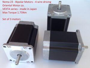 Stepping-Motor-Nema23-1-75Nm-VEXTA-PK268D14A-Oriental-Motor-1-8-Step-6V-17-5KgF