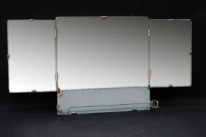 Age-Mirror-Tray-Camping-Shelf-Vintage-Bad-Folding-Mirror-Vintage