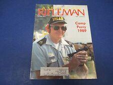 American Rifleman Magazine , October 1989, Camp Perry 1989, Gun Control Beat