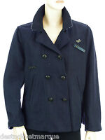 I Code By Ikks Caban Trench Court Femme Bleu Marine Taille 40