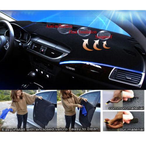 Dash Cover Mat Pad Carpet for Pontiac Firebird 1997-2002 Black