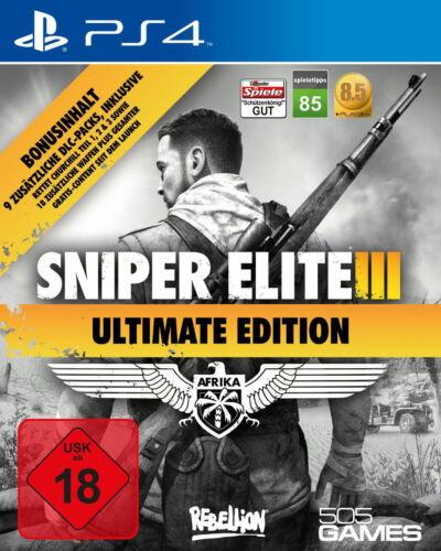 1 von 1 - Sniper Elite 3 - Sniper Elite III -  Ultimate Edition PlayStation 4
