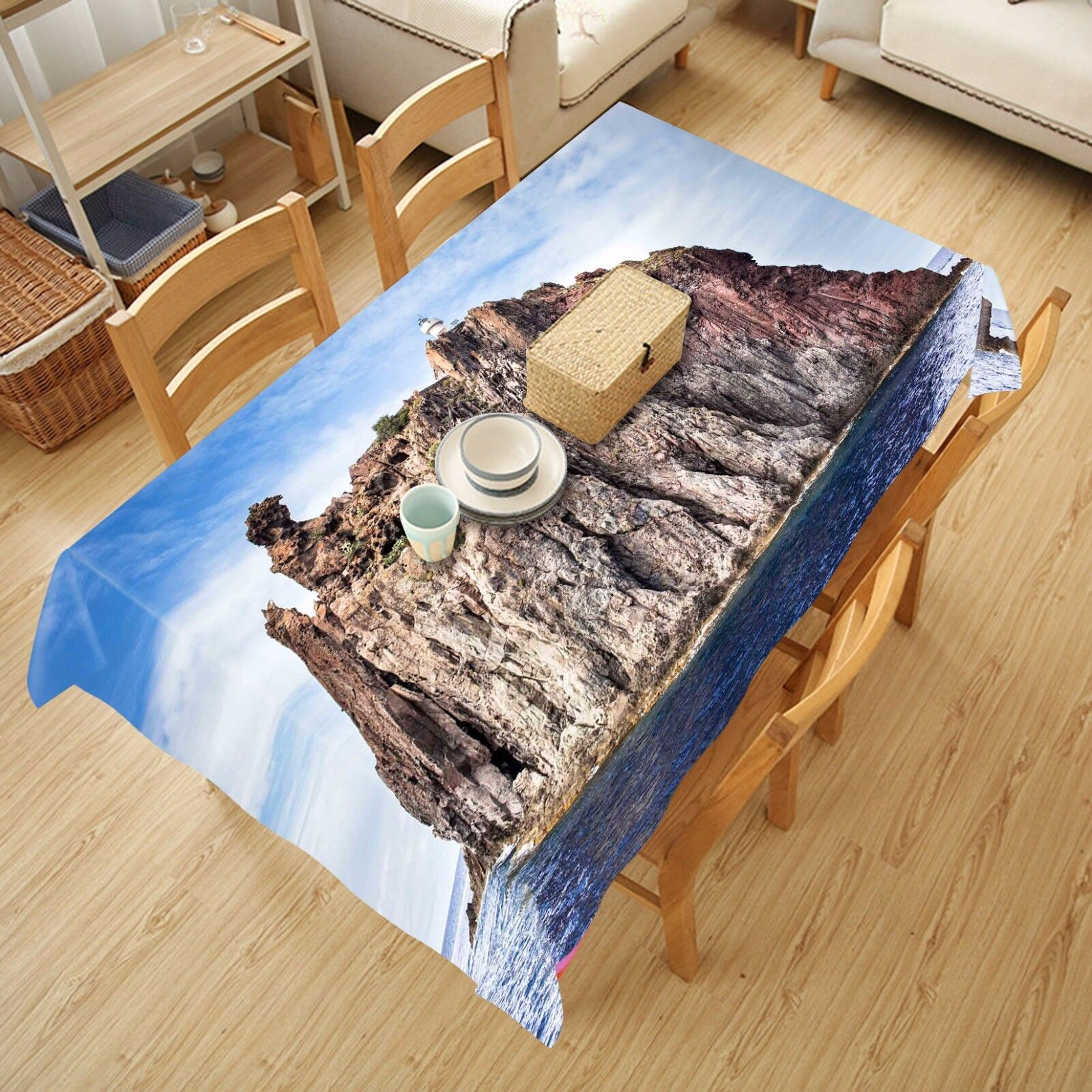 3D Islets 4978 Tablecloth Table Cover Cloth Birthday Party Event AJ WALLPAPER AU
