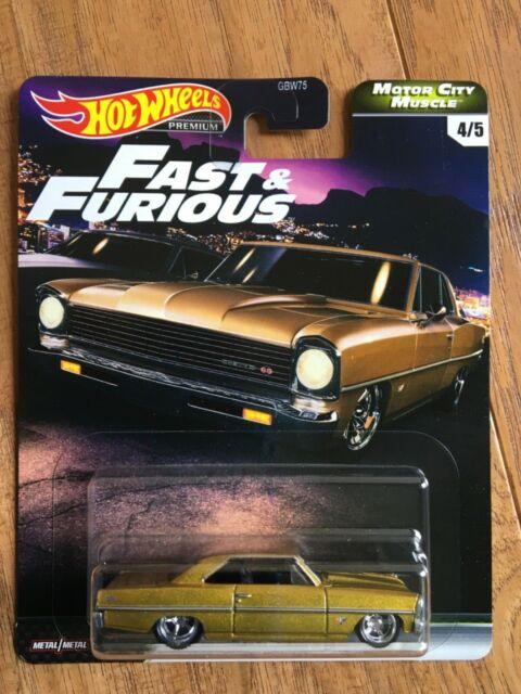Fast /& Furious SET **RR** Hot Wheels 2020 Premium Motor City Muscle 1:64