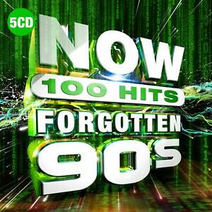 NOW-100-Hits-Forgotten-90s-Five-Madness-CD-Sent-Sameday