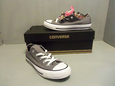 Converse CT All Star Double Tongue Gray
