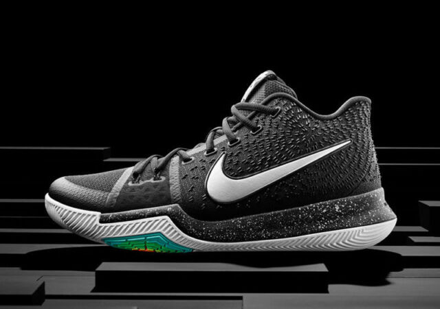 Buy DS Kyrie 3 Black Ice Sz 10.5 100 Authentic Nike Retro 852395 018 ... 1ef0c22de