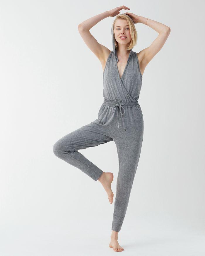 NWT Splendid Studio Jumpsuit Marled Grey Small